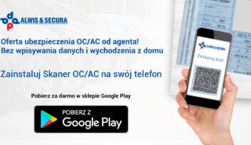 Skaner OC/AC – aplikacja mobilna dla agentów Alwis&Secura