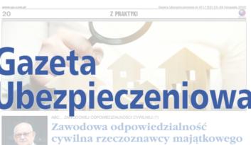 """""""Zawodowa odpowiedzialność cywilna rzeczoznawcy majątkowego"""" – dr Stanisław Kuta dla GU"""