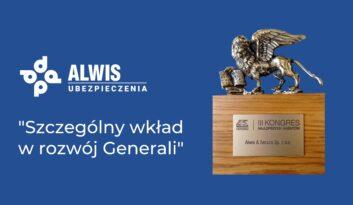 III Kongres Najlepszych Agentów Generali – Alwis wśród laureatów